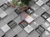 Mosaico de aluminio de la decoración de la pared del diseño moderno de la mezcla cristalina (CFA87)