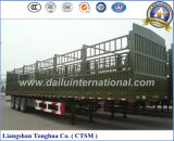 Zaun des Hersteller-70t 2-Tier/Stange-halb LKW-Schlussteil