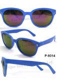 Óculos de sol de Plastic da forma com 100% Protection UV (P-9314)