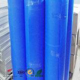 Hoja plástica acanalada del material de construcción para el revestimiento y la protección de suelos