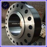 ASTM A105の炭素鋼は造られて重ね継ぎするフランジを通った