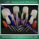 De fabriek Aangepaste TPE ABS POM Delen van de Injectie van PC pp Teflon Plastic