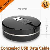 Verborgenes USB-Daten-Kabel für iPhone und Android