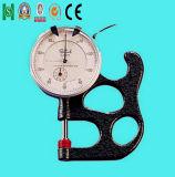 Probador portable del espesor de Tyoe de la dial para el cuero y la película