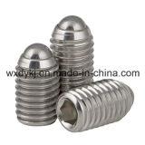 中国ASME/ANSI B 18.3からの楕円形ポイント工場が付いているステンレス鋼304の六角形のソケットの止めねじ