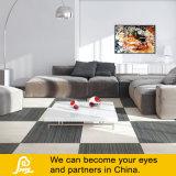 Tuch-Zeile vertikale Lino rustikale Porzellan-Fliese für Fußboden-und Wand-Seide 600X600mm (SK6821)