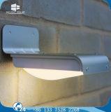 Muur van de Controle van de Legering van het aluminium zette de Lichte Zonne LEIDENE van de Tuin OpenluchtLamp op
