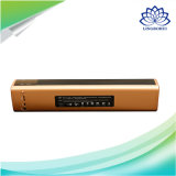 Preto e ouro NFC High Sound Quality Wireless Mini Speaker