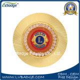 高品質の記念品のためのカスタム3D金属の硬貨