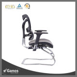 Silla ergonómica de la oficina del acoplamiento cómodo de espalda con base metálica