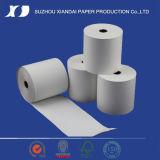 papel termal de 57mmx50m m para el rodillo del papel termal del cajero 31/8