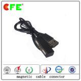 3pin 2A 전자 제품을%s 자석 케이블 연결관