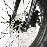 20inch 500Wの折る自転車の電気脂肪質のタイヤ小型Ebike