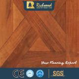 8.3mm E1 AC3 HDF Textura Woodgrain Textura de la teca encerado piso laminado