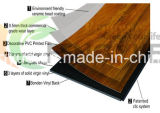 plancher de vinyle de PVC de cliquetis de 5mm Lvt