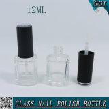 kosmetisches freies 12ml Nagellack-Flaschenglas mit Pinsel