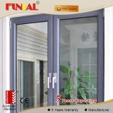 호주 두 배 강화 유리 알루미늄 Windows