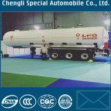 頑丈な半40m3 LPGの輸送のトレーラー40000L LPGタンクトレーラー20ton LPGタンク