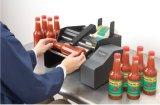 Линия вполне и Semi автоматической вертикальной машины для прикрепления этикеток круглой бутылки заполняя
