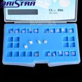 Fente dentaire des approvisionnements 5X5. 022 mini brides en céramique orthodontiques
