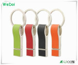 Neuer Promotional Leather USB Pen Drive mit Printing Logo (WY-L28)