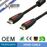 Mâle de qualité de Sipu au câble mâle de HDMI avec l'Ethernet