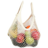 Großhandelskartoffel-Baumwollineinander greifen-Einkaufen Eco Beutel u. Nettobeutel