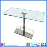 6mm 10mm 12mm abgeschrägte Rand-Tischplatte-ausgeglichenes Glas mit Gebäude/Möbeln