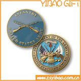Pièce de monnaie militaire en métal chaud de vente pour le souvenir (YB-c-029)
