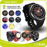3G vient avec la montre intelligente de la fréquence cardiaque GPS de Pedometer de Bluetooth de WiFi de système de 5.1 androïdes