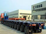 große Transportvorrichtung der Teil-130t und hydraulischer modularer Schlussteil