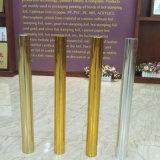 Цветы горячего серебра золота штемпелюя фольги голографические
