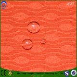 Tissu imperméable à l'eau tissé de rideau en arrêt total de franc de tissu de polyester de tissu de fournisseur de textile