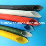 Пробивное напряжение 1.2-7kv высокотемпературной стеклоткани силикона Sleeving