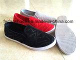 Подгонянные ботинки спортов ботинок холстины впрыски Slip-on женщин вскользь