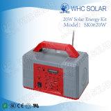 De Uitrustingen van het Zonnepaneel van de Noodsituatie van de Bank van de macht 20W met Radio
