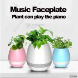 Bluetoothスマートな音楽植木鉢の情報処理機能をもった実質のプラント接触演劇の植木鉢