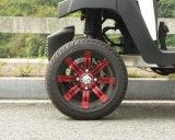 Carrello di golf elettrico della rotella di alluminio rossa 4 Seaters