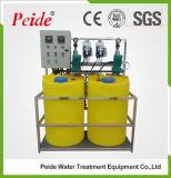 Sistema de dose químico para a água do laço Closed