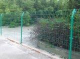 Сваренная PVC 2016 панель загородки ячеистой сети