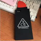 Caja del teléfono celular del silicón para el iPhone 7 accesorios del teléfono móvil de 7plus 6g 6pluscase (XSF-074) (XSF-075)