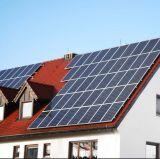 Sistema completo Griglia-Legato di energia solare del tetto del passo della famiglia