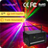 Guangzhou el último proyector a todo color del laser de la animación del precio 5W con el Ce RoHS