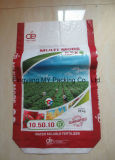 sac composé à sac d'emballage de l'engrais 25kg tissé par pp stratifié par OPP