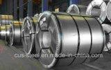 Zinc90 galvanizou as bobinas de aço/qualidade principal a bobina de aço galvanizada