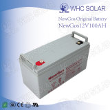 12V太陽エネルギーバンク100ah Bateriaの充電器バックアップ
