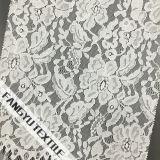Tela floral popular do laço do algodão para o vestido