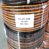 """1/4 """" caoutchouc flexible de barre de pouce W.P 20 et boyau de gaz de PVC LPG/tube"""