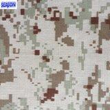Gefärbtes Leinwandbindung-Baumwollgewebe-Segeltuch der Baumwolle7+7*7 75*25 320GSM für Arbeitskleidungs-Funktions-Kleidung