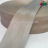 Sangle en nylon de ceinture de sécurité de couleur grise kaki de 1.5 pouce